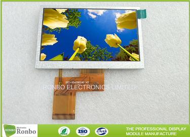 4.3 inch 480x272 RGB 40pin 400Cd/m2 TFT LCD Display Option Touch Screen